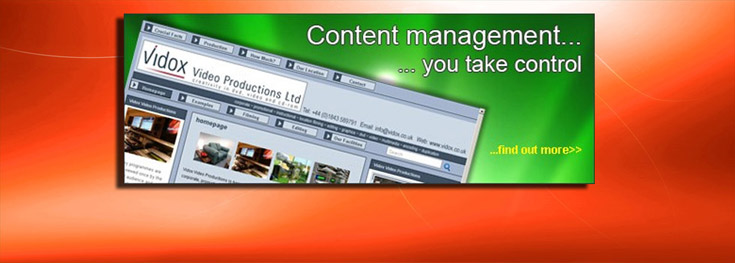 iQh Internet - Content Management System