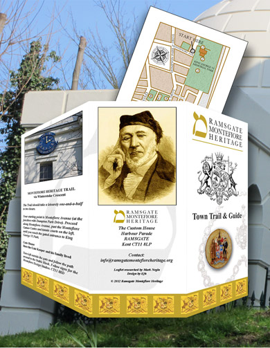 Ramsgate Montefiore Heritage - iQh Graphic Design and Internet